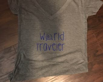 World traveler tee