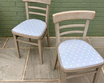 Upcycled vintage Dining Chairs