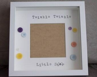 Twinkle Twinkle Little Star Picture Frame