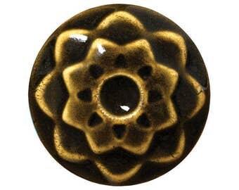 Amaco iron celadon glaze - Amaco C-36 glaze - new glaze pint - ceramic glaze - cone 6 glaze