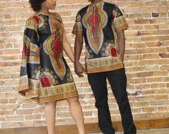 Dashiki Couple Set