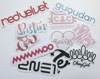K-Pop Stickers | Girl Groups | 10% Off Code SOKPOP10