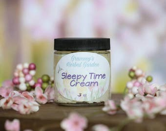 Natural Sleep Aid & Relaxation Cream, No Chemicals or Fake Oils, essential oils