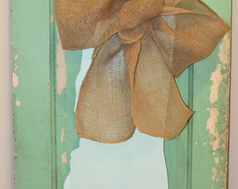 Mississippi Door Hanger with Oversized Bow
