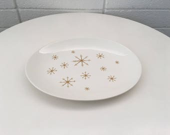 Royal China Star Glow Oval Serving Platter