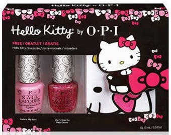 Hello Kitty by OPI Coin In My Purse Set