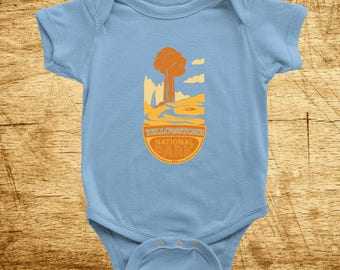 Yellowstone National Park Onesie