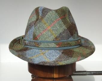 Harris Tweed Wool Trilby