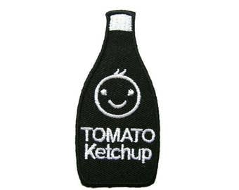 Cute black Tomato ketchup patch.
