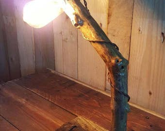 Scottish Driftwood Rustic Table Lamp