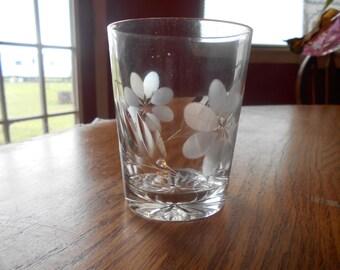antique etched cut glass
