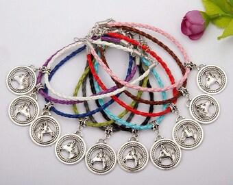 Horse lover charm bracelets