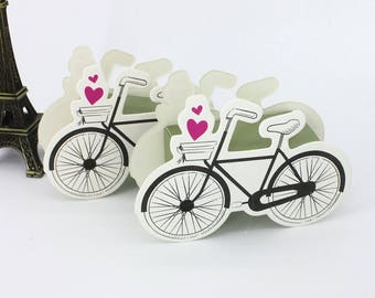 3 x party favour/3D bicycle gift box/Birthday gift box/wedding favour/candy box