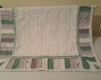 Chenille Rag baby/toddler quilt