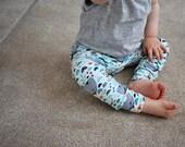 Hainmade UK Anchors Awhale harem leggings baby leggings toddler leggings baby boy leggings baby clothes handmade leggings