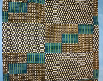 Pocketsquare handkerchief African African tropical