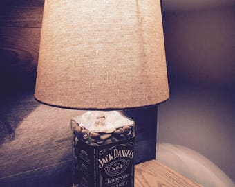 Rustic Jack Daniels Lamp