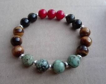 Mala bracelet unisex ' balance and energy '
