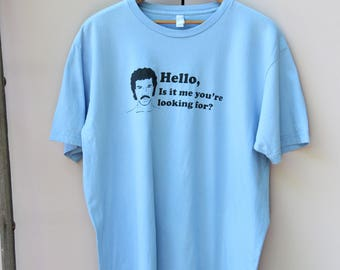 "Lionel Richie ""Is It Me You're Looking For"" Tee"