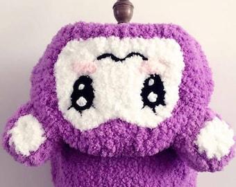 Crochet Monkey Hooded Vest