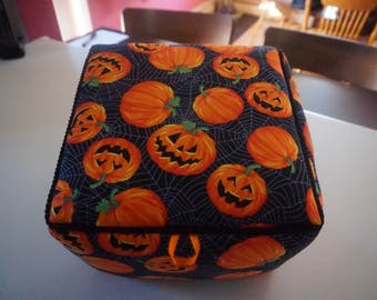 Pumpkins Fabric Box