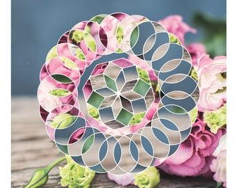 Modern Floral Composition DIY Instant Digital Download Printable Wall Art