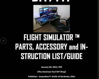 Shop American Gurl, DIY PDF Flight Simulator List/Guide TM