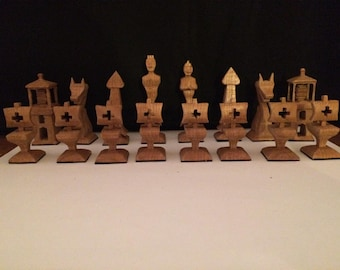 Nautical chess set