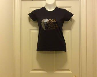 Rhinestone design Tee Shirt