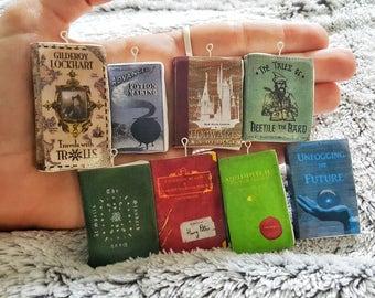 Harry Potter mini textbook charms
