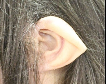 Fun F/X Reel Ears Silicone Ear Tips - Hobbit Ear Tips