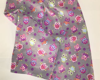 Child's Owl Flannel Pants