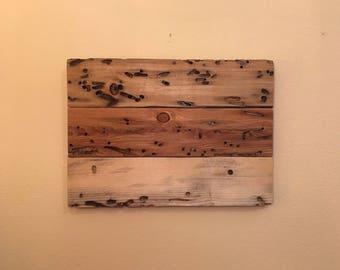 Wood Wall Art, Rustic Wall Art