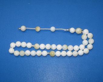 Rosary, Islamic Prayer Beads, Sea Shells, 33 Beads, Sea Shells Beads, Sea Shells Prayer Beads, Sea Shell Rosary, Shell, Fathers Day