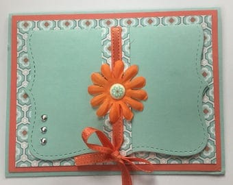 Card With Gift Card Holder