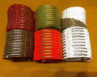 Beaded Indian bracelet