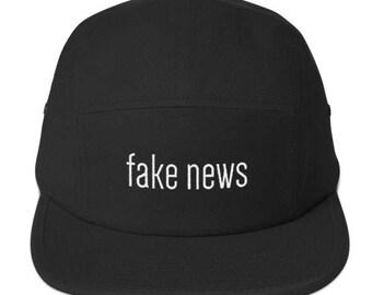 Fake News 5 Panel Camper Hat Regular price
