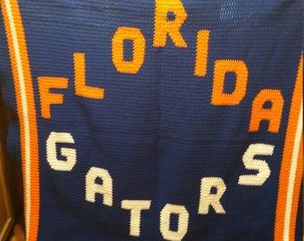 Florida Gators afghan
