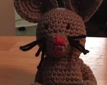 Tiny Amigurumi Mouse