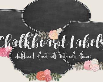Chalkboard Labels | label clipart, chalkboard frame, chalkboard clipart, wedding frame,wedding clip art,scrapbooking,printable,digital frame