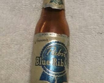 Vintage Pabst Blue Ribbon Airlines bottle