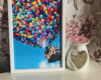 Disney Up House Balloon Print