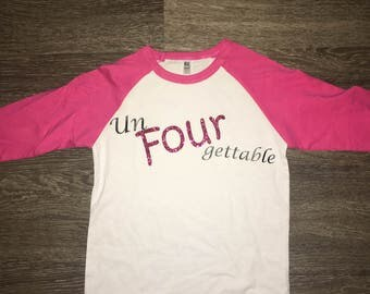 Un FOUR gettable! Toddler/Kids T shirt