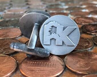 Cuff Links - Claimjumper AK logo