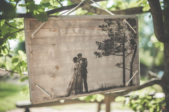 Personalized photo on wood, wedding gift, free shipping, home decor, wall art, vintage, wood art, wood decor, gift for men and women,