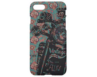 Vintage iPhone 7 case Floral iPhone 7 plus case iPhone 6s case iPhone 6 iPhone 6s plus iPhone 6 plus iPhone 5s case iPhone SE iPhone 4s case