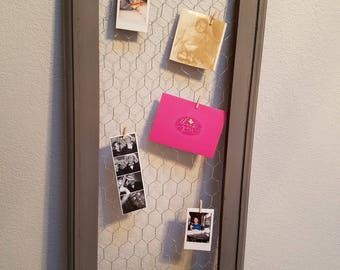 Wire Photo/Note Hanger