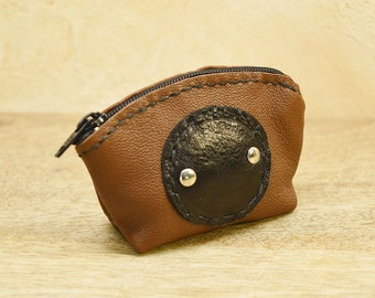 "Wallet leather ""Louisill"" (leather wallet)"