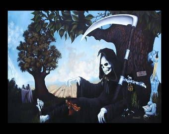 Discworld DEATH [ Print ]