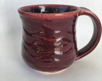 Mug: Red Waves
